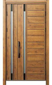木目調ドア