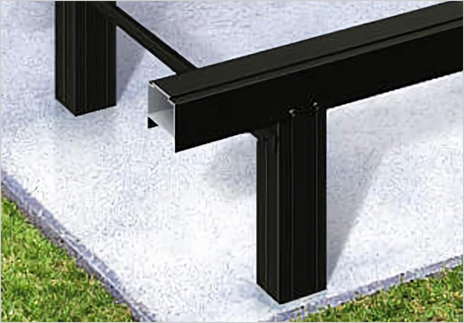 アルミ製束柱