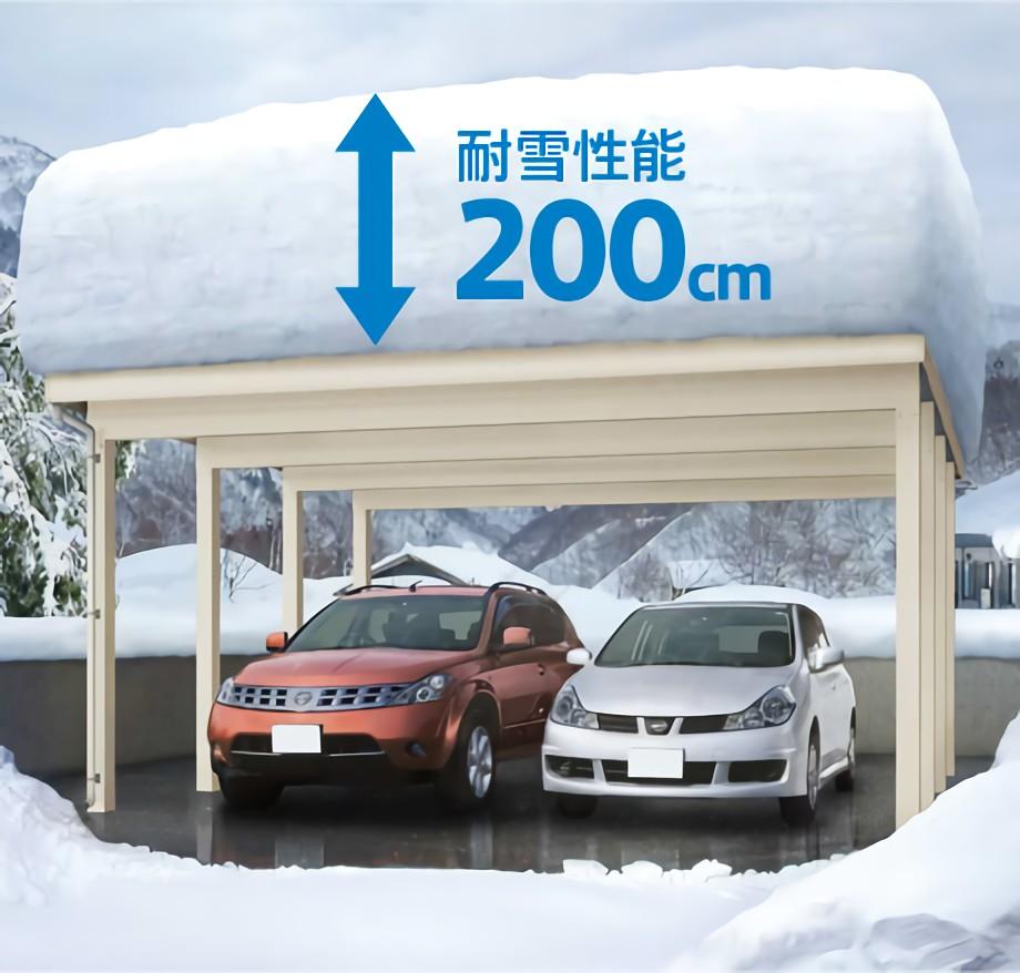 業界最高水準の耐風圧強度