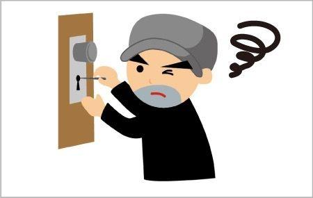 泥棒が嫌がるドア