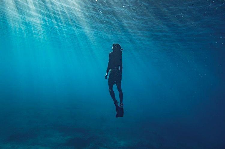 海中のような静けさ