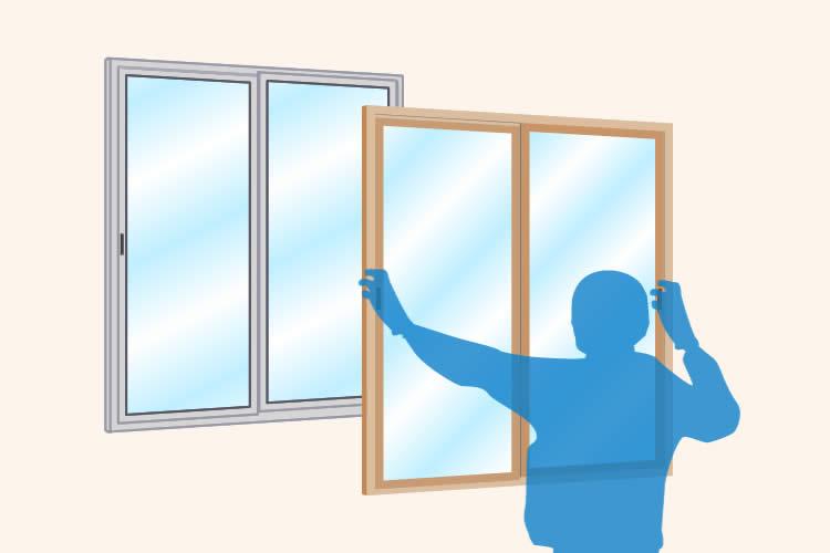 内窓をつける