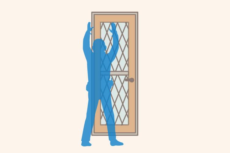 ドアを交換