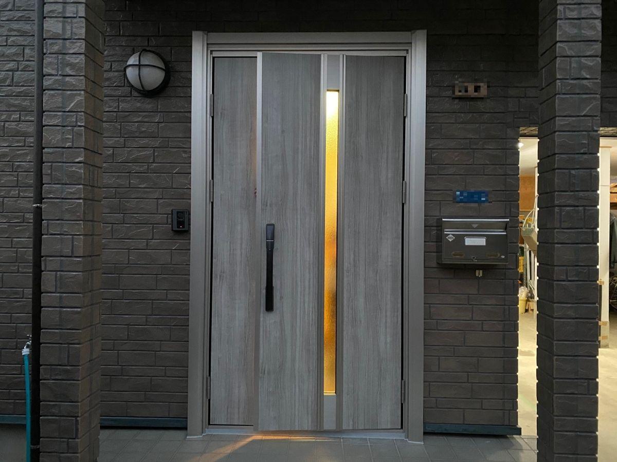 玄関ドア入れ替え工事