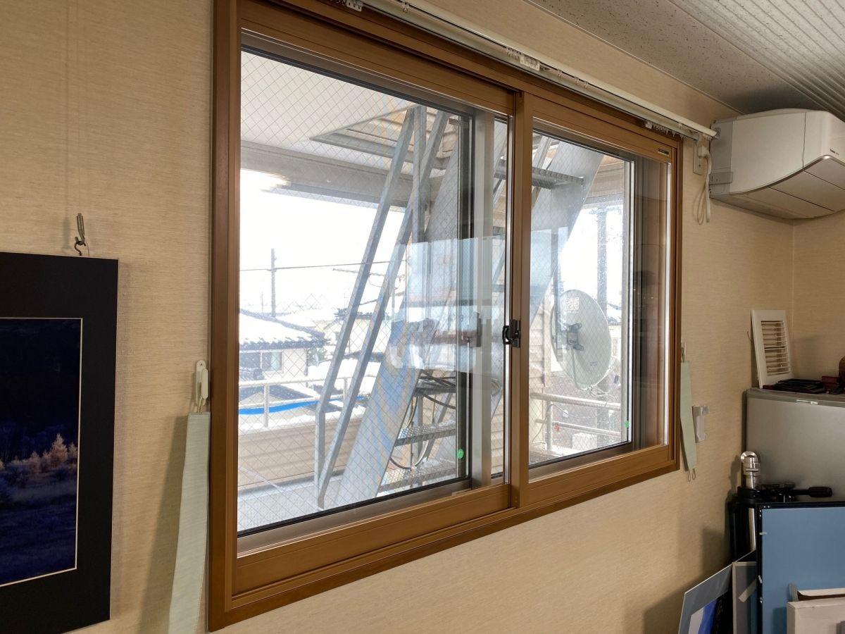 内窓プラマードU設置工事