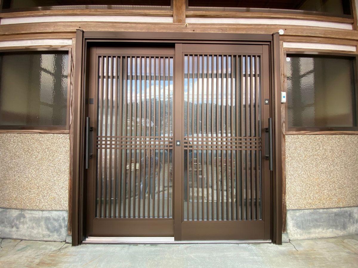 玄関引戸交換工事