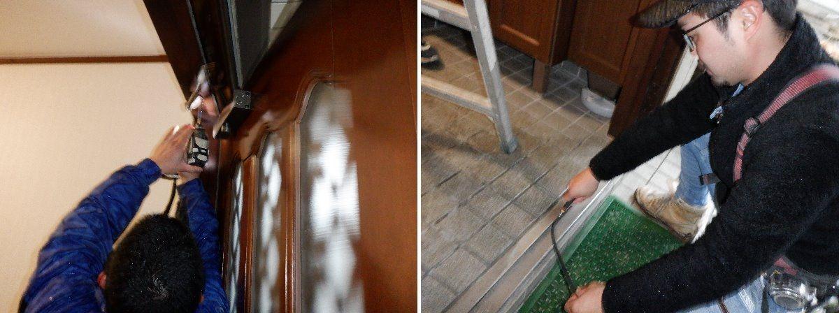 かんたんドアリモ/玄関ドアの施工事例