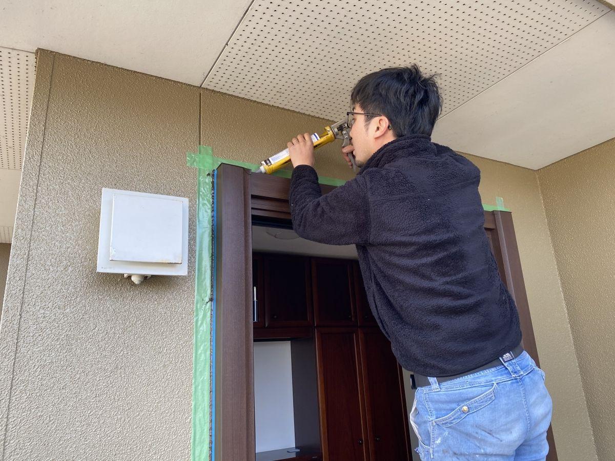 かんたんドアリモ(玄関ドア)の施工事例