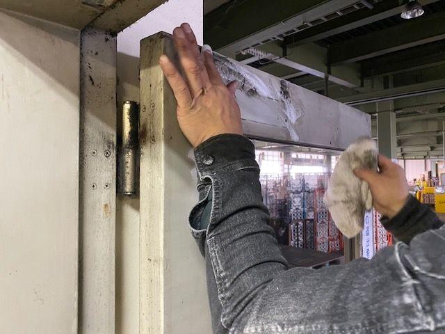 ドアクローザーの施工事例