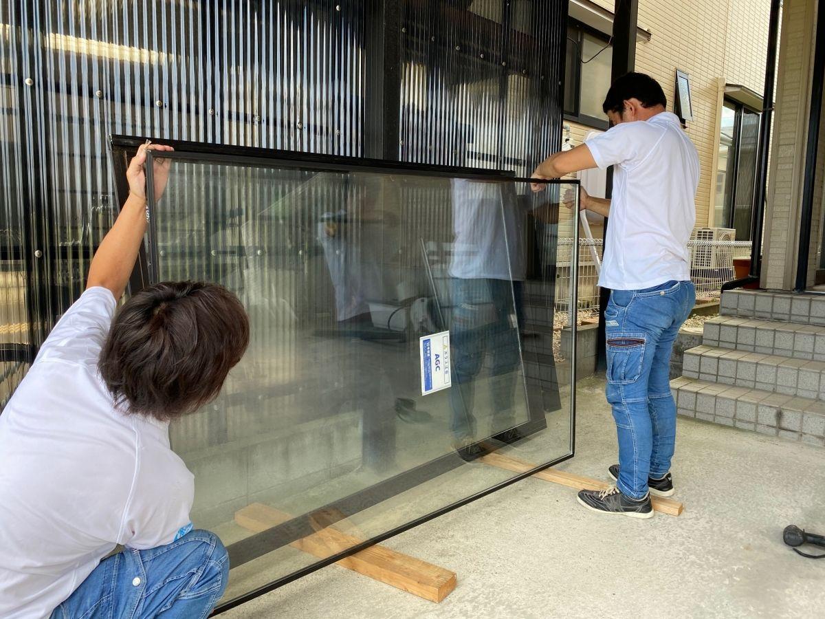 一般複層ガラスの施工事例