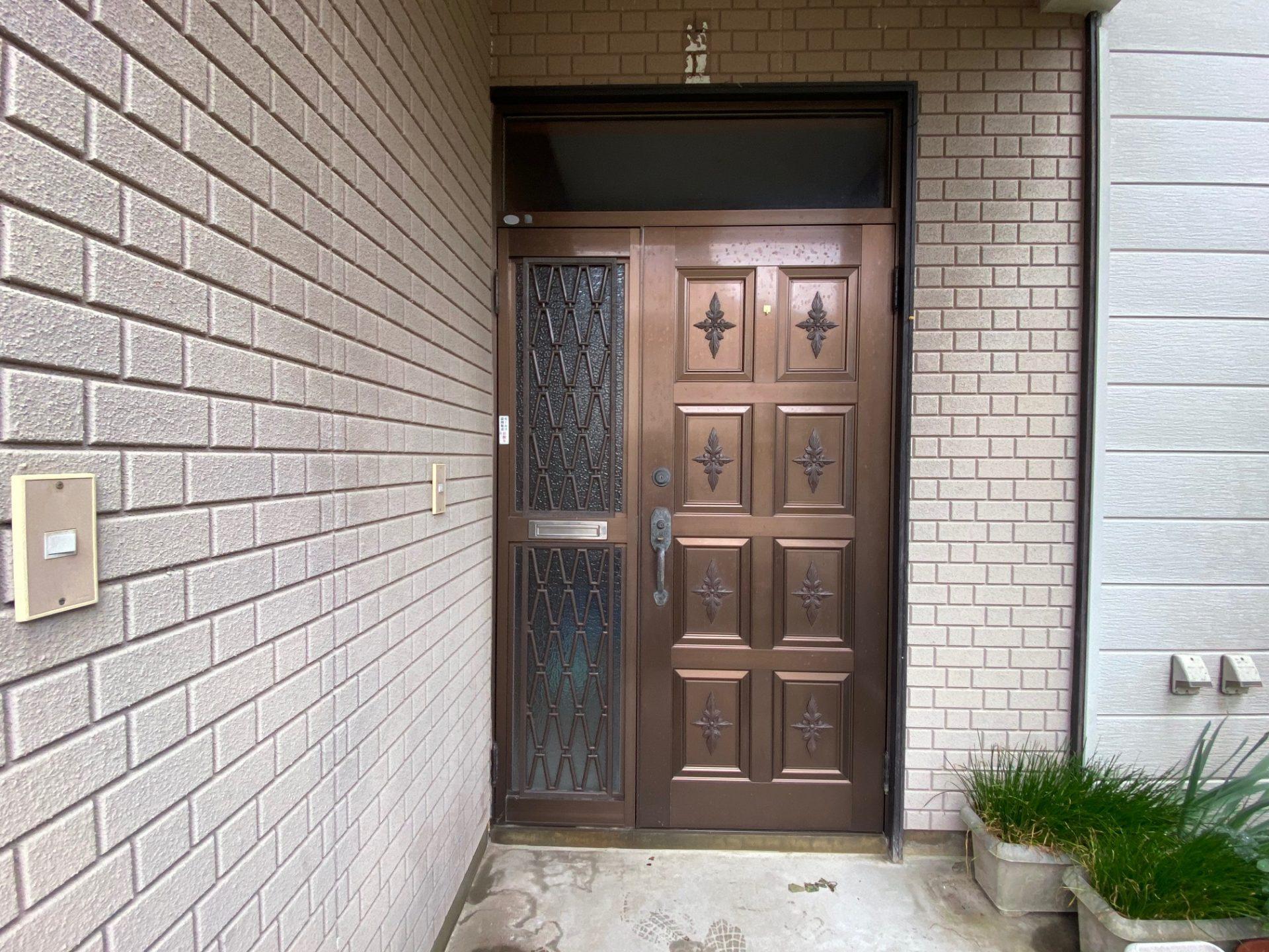 長岡市 玄関リフォーム~見えない箇所も手を抜かない
