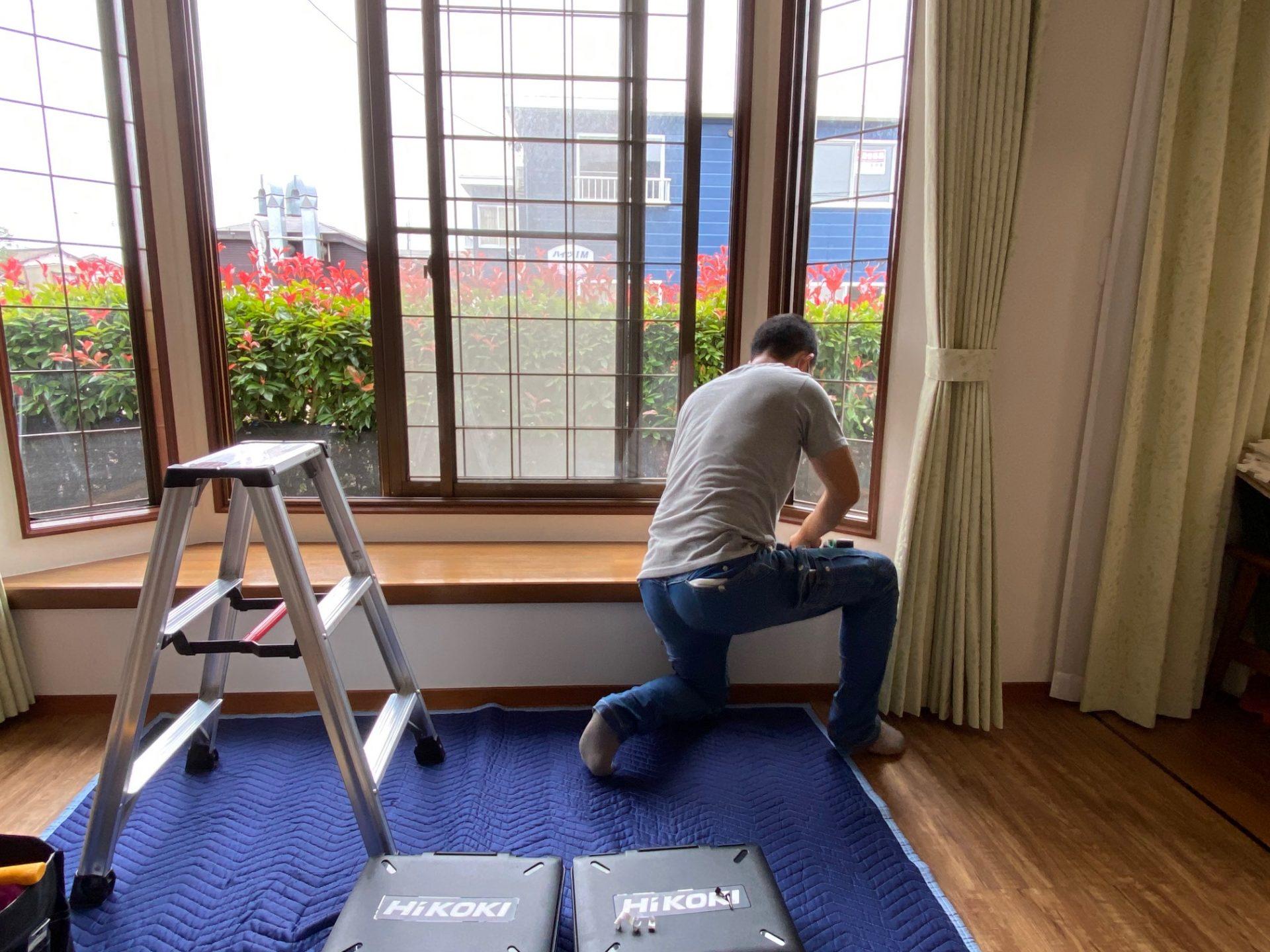 長岡市 内窓設置工事~既存窓+@で高断熱窓へ!