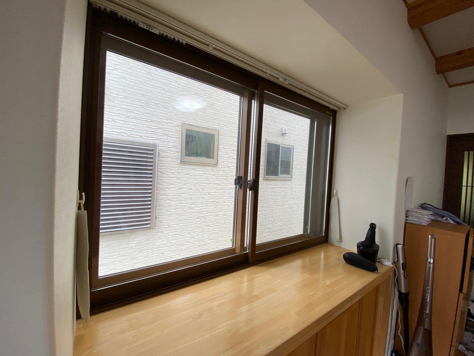 長岡市内窓設置&多機能ルーバー設置~プライベート空間を充実させる。