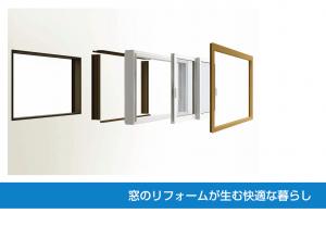 窓リフォーム 内窓リフォームと窓交換の違い