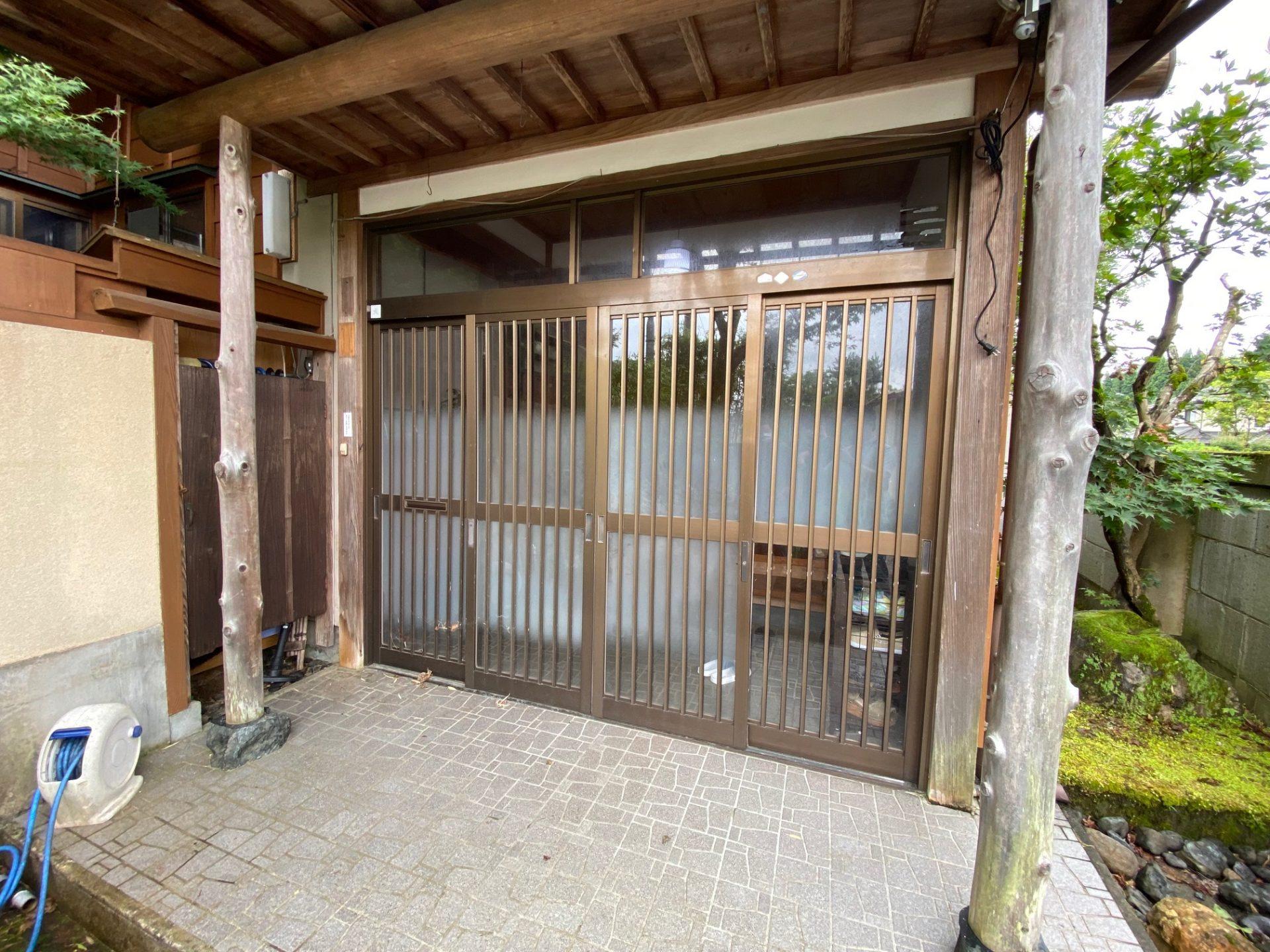 ドアリモ玄関引戸の施工事例