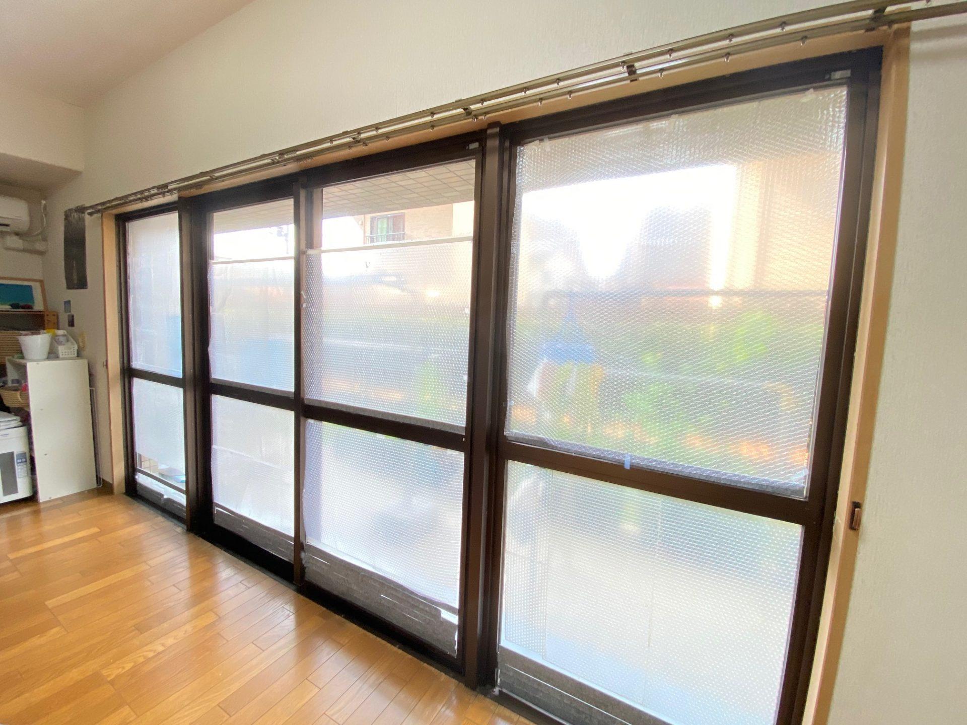 長岡市 マンションの窓を内窓設置で断熱対策